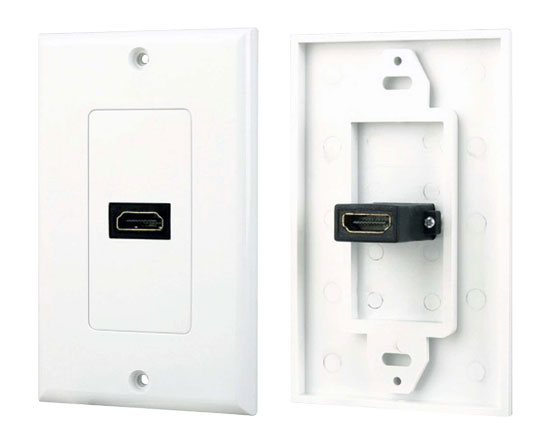 Pyle - PHDMF1 , Home and Office , Wall Plates - In-Wall Control , Single HDMI Wall Plate