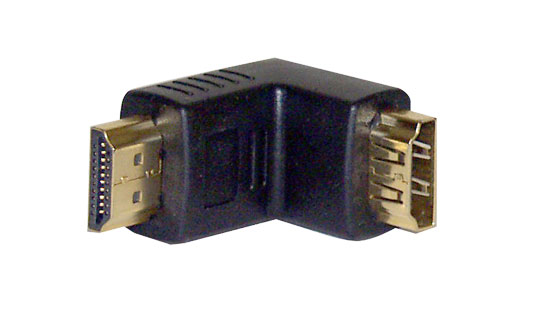 Pyle - PHDMFCI , Home and Office , Cables - Wiring - Adapters , HDMI Male to Female Coupler - 90 Degree