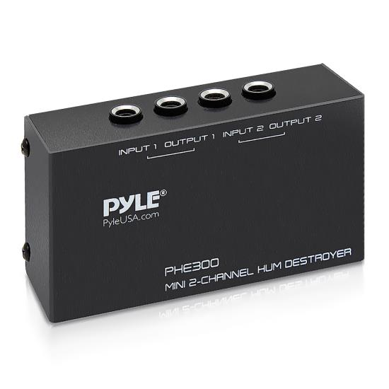 Pyle - PHE300 , Musical Instruments , Musician Accessories , 2-Channel Hum/Noise Destroyer