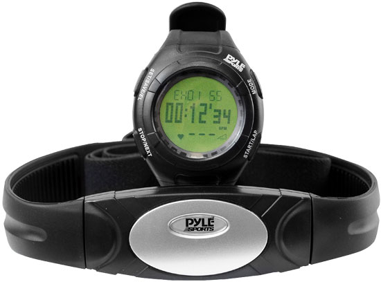 Pyle - PHRM28 , Sports and Outdoors , Watches , Gadgets and Handheld , Watches , Advance Heart Rate Watch W/Walking/Running Sensor, Training Zones, and Calorie Counter