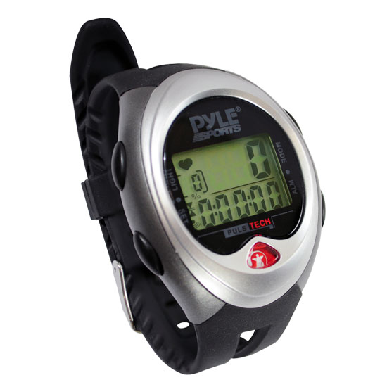 Pyle - PHRTMW1 , Sports and Outdoors , Watches , Digital Sports Watch With Heart Rate Monitor