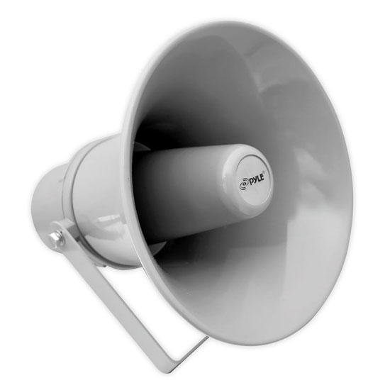 Pyle - PHSP101T , Home and Office , Speakers , Sound and Recording , Speakers , 9.7'' Indoor / Outdoor 20 Watt PA Horn Speaker  w/ 70V Transformer