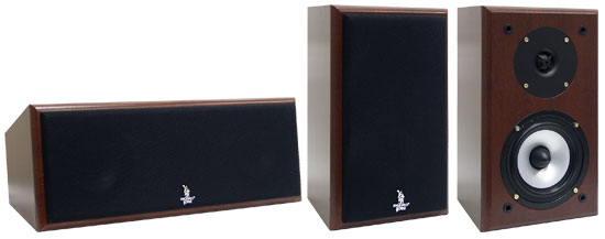 Pyle - PHST55 , Home and Office , Speakers , 100 Watt Bass Reflex Home Theater Surround Sound Speaker System