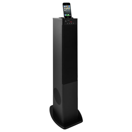 Pyle - PHST80IP , Home Audio / Video , iPod Tower Systems , 2.1 Channel Sound Tower System - Works with All iPods, iPads & iPhones