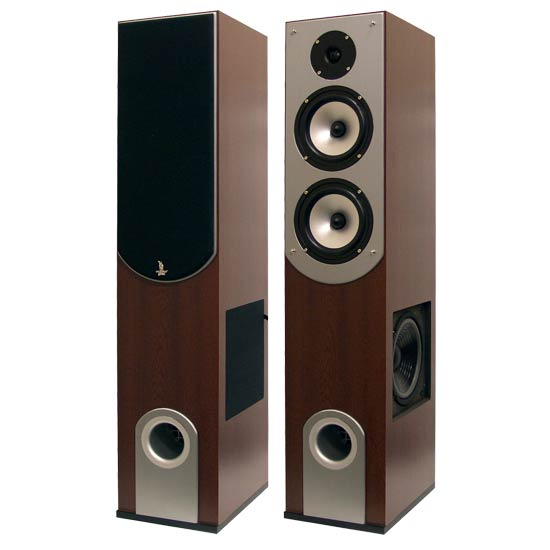 Pyle - PHST89 , Home Audio / Video , Home Theater Systems , 200 Watt 3-Way Bass Reflex Home Speaker System