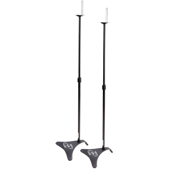 Pyle - PHSTD1 , Musical Instruments , Mounts - Stands - Holders , Sound and Recording , Mounts - Stands - Holders , Universal Speaker Floor Stand Mount Holders, Height Adjustable, Pair