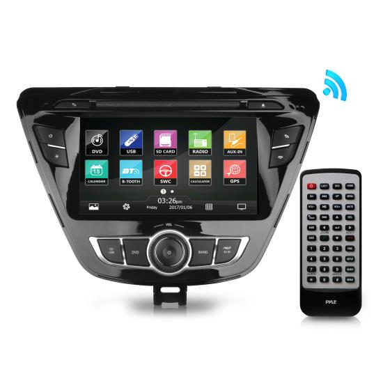 Pyle - PHYELANT14 , On the Road , Headunits - Stereo Receivers , 2014 Hyundai Elantra Factory OEM Replacement Stereo Receiver, Plug-and-Play Direct Fitment Radio Headunit