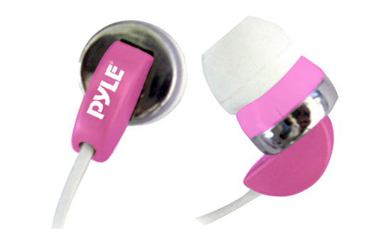 Pyle - PIEH40P , Sound and Recording , Headphones - MP3 Players , Ultra Slim In-Ear Ear-Buds Stereo Ultra Super Bass Headphones For Ipod/MP3/All Audio source Players (Pink)
