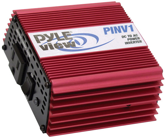 Pyle - PINV1 , Car Audio , Power Inverter , Plug In Car 300 Watt Power Inverter DC/AC