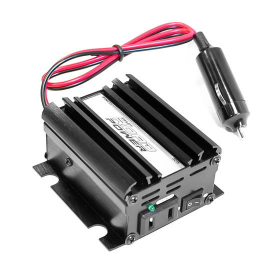 Pyle - PINV11 , Car Audio , Power Inverter , Plug in Car 50 Watt 12v DC to 115 Volt AC Power Inverter w/ Modified Sine Wave