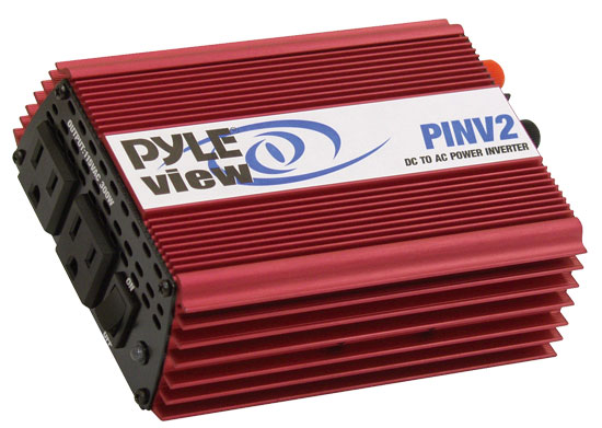 Pyle - PINV2 , Home and Office , Power Supply - Power Converters , On the Road , Power Supply - Power Converters , Plug In Car 600 Watt Power Inverter DC/AC