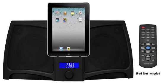 Pyle - PIP711 , Home and Office Audio / Video , iPod Docking Systems , Digital 2-Way Stereo Speaker System for iPods, iPads & iPhones, 300 Watt Power, Remote Control & Line-In