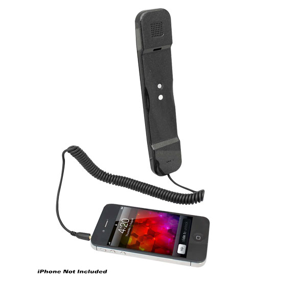Pyle - PITP8BK , Home Audio / Video , Headphones , Handset for iPhone, iPad, iPod, and Android Phones - Easy Use - Black