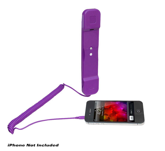 Pyle - PITP8PUR , Sports and Outdoors , Portable Speakers - Boom Boxes , Handset for iPhone, iPad, iPod, and Android Phones - Easy Use - Purple