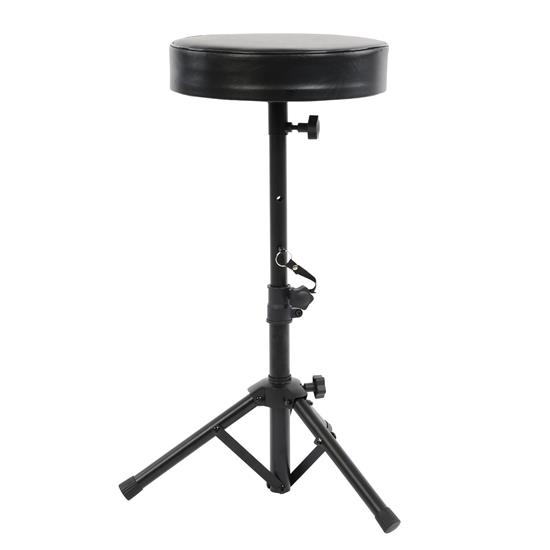 Pyle - PKST54 , Musical Instruments , Mounts - Stands - Holders , Sound and Recording , Mounts - Stands - Holders , Musician & Performer Chair Seat Stool - Durable and Portable Stool with Height Adjustable Foot & Seat