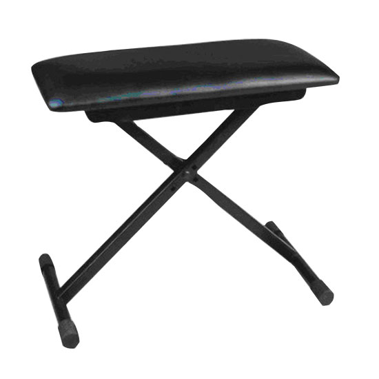 Pyle - PKST60 , Musical Instruments , Mounts - Stands - Holders , Sound and Recording , Mounts - Stands - Holders , Universal Musical Performance Piano Keyboard Seat Chair Stool Bench, Height Adjustable