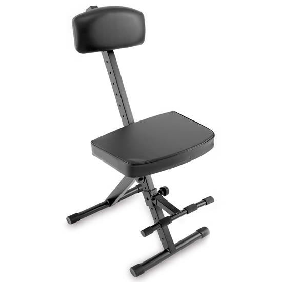 Pyle - PKST74 , Musical Instruments , Mounts - Stands - Holders , Sound and Recording , Mounts - Stands - Holders , Guitar/Keyboard Performer and DJ Deluxe Seat - Piano Chair, Orchestra Bench w/ Padded Adjustable Backrest