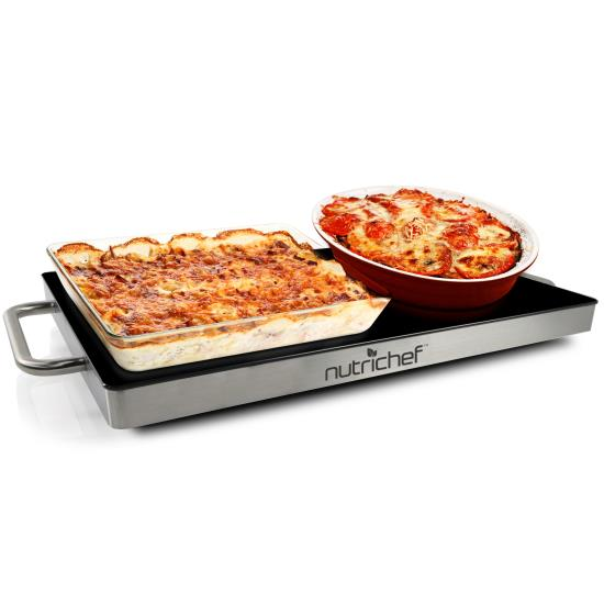 Food Tray Warmer ~ Nutrichef pkwtr kitchen cooking food warmers