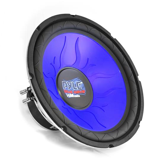 Pyle - PL1290BL , On the Road , Vehicle Subwoofers , 12'' 1200 Watt DVC Subwoofer