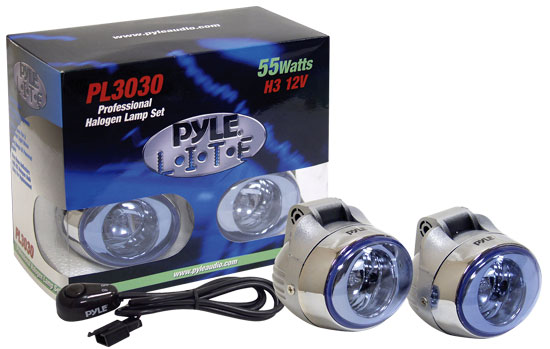 Pyle - PL3030 , Performance Parts , Halogen Lamps Kits , High Power Halogen Grill Lamp Set