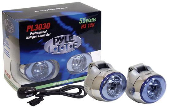Pyle - PL3030 , Disc , High Power Halogen Grill Lamp Set