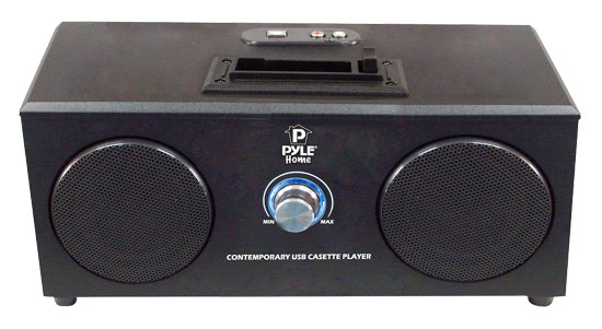 Pyle - PL5CSUB , Home and Office , Portable Speakers - Boom Boxes , Cassette Tape Archiver And Digital Media Converter To PC