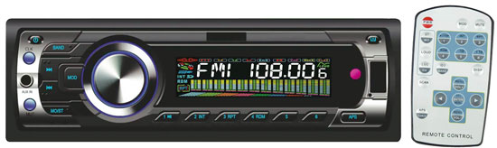 Pyle - PL94MU , On the Road , Headunits - Stereo Receivers , AM/FM-MPX Electronic Tunning Radio w/USB/SD/MMC Reader
