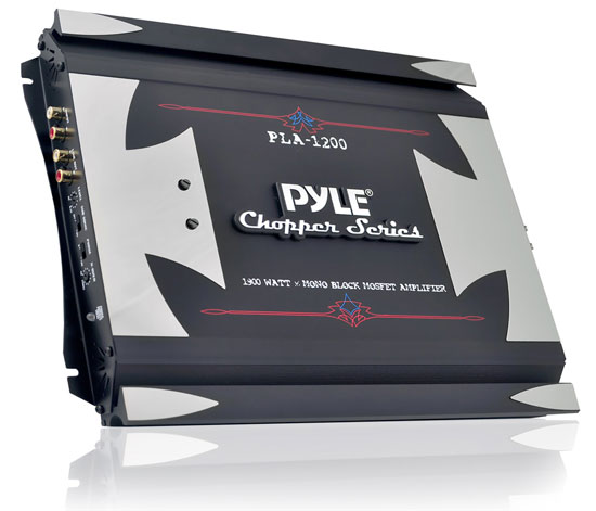 Pyle - PLA1200 , Car Audio , Amplifiers , Mono Block Amplifiers , 1900 Watts Mono Block Mosfet Power Amplifier