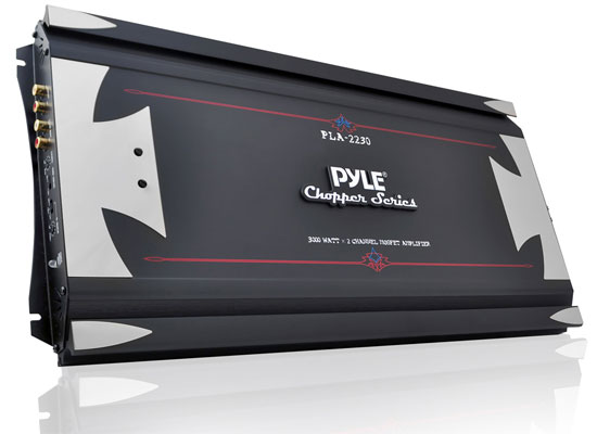 Pyle - PLA2230 , Car Audio , Amplifiers , 2 Channel Amplifiers , 3000 Watts 2 Channel High Power Mosfet Amplifier