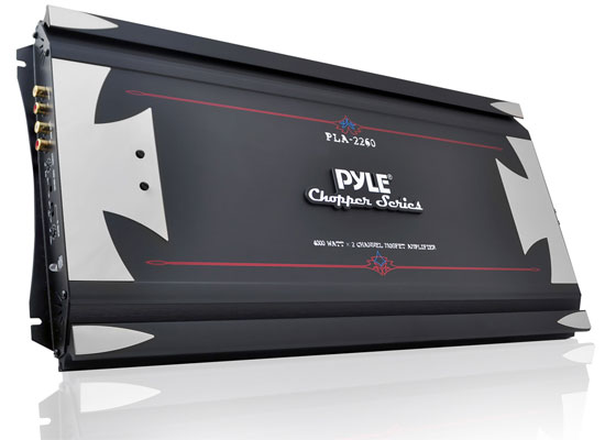 Pyle - PLA2260 , Car Audio , Amplifiers , 2 Channel Amplifiers , 2 Channel 4000 Watt High Power Mosfet Amplifier