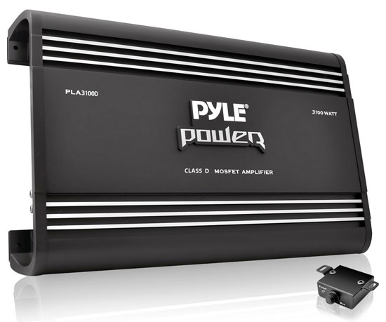 Pyle - PLA3100D , On the Road , Vehicle Amplifiers , 3100 Watts Class D Amplifier