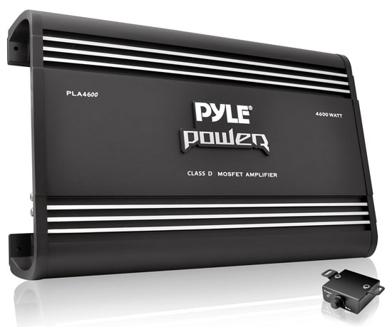 Pyle - PLA4600D , Car Audio , Amplifiers , Mono Block Amplifiers , 4600 Watts Mono Class D Amplifier