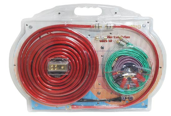 Pyle - PLAM20 , On the Road , Wires - Cables - Installation , 4 Gauge Amplifier Installation Kit