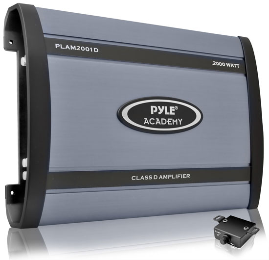 Pyle - PLAM2001D , Car Audio , Amplifiers , Mono Block Amplifiers , Class D Monoblock Power Amplifier