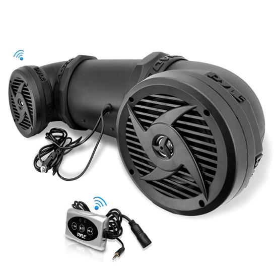 Pyle Platv550bt Marine And Waterproof Motorcycle And