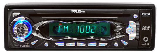 Pyle - PLCD28M , On the Road , Headunits - Receivers , AM/FM Receiver Auto Loading CD/ MP3 Player