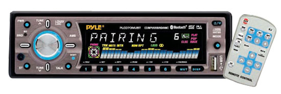 Pyle - PLCD70MUB , On the Road , Headunits - Stereo Receivers , AM/FM- MP3 & SD/MMC/USB With  Bluetooth Wireless Technology