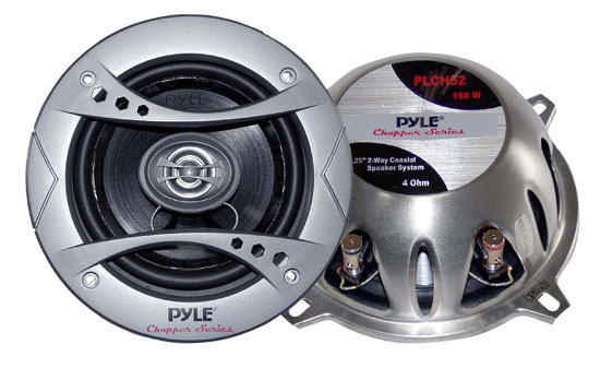 Pyle - PLCH52 , On the Road , Vehicle Speakers , 5.25'' 160 Watt 2-Way Speaker System