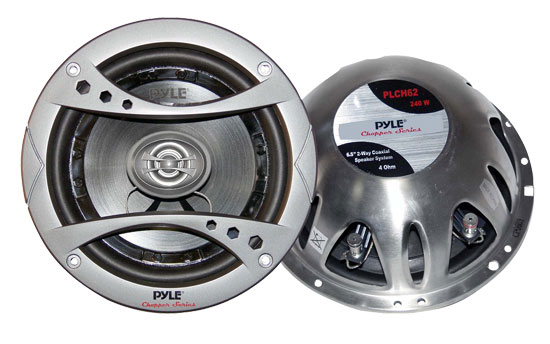 Pyle - PLCH62 , On the Road , Vehicle Speakers , 6.5'' 240 Watt 2-Way Speaker System
