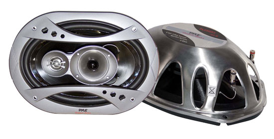 Pyle - PLCH693 , On the Road , Vehicle Speakers , 6'' x 9'' 360 Watt 3-Way Speaker System