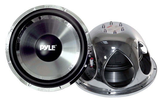 Pyle - plchw10 , On the Road , Vehicle Subwoofers , 10'' 1400 Watt DVC Subwoofer