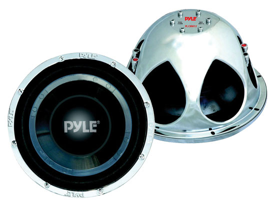 Pyle - PLCHW12 , On the Road , Vehicle Subwoofers , 12'' 2400 Watt DVC Subwoofer