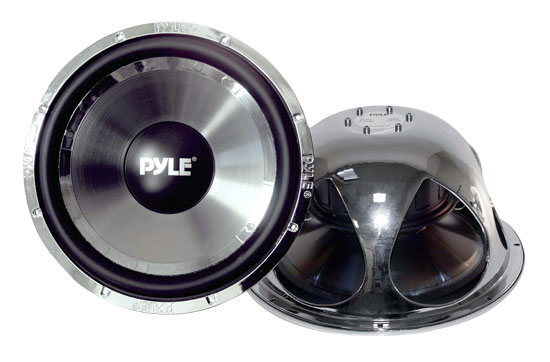 Pyle - PLCHW15 , On the Road , Vehicle Subwoofers , 15'' 3600 Watt DVC Subwoofer