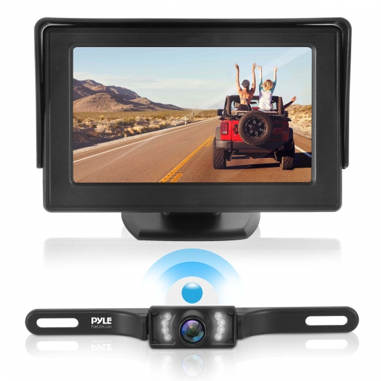 Pyle Backup Camera >> Pyle - PLCM4585WIR - On the Road - Rearview Backup Cameras - Dash Cams