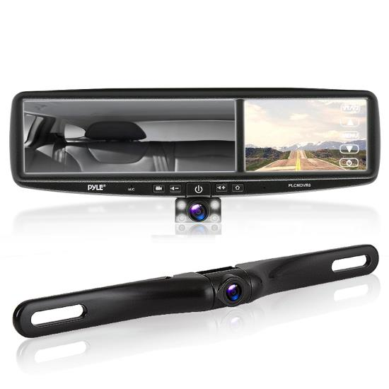 Rear View Camera System >> Hd Vehicle Backup Camera System Dvr Dual Camera Rearview