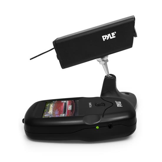 Pyle - PLCMH5 , On the Road , Rearview Backup Cameras - Dash Cams , Wireless Rearview Backup Trailer / Hitch Camera, Waterproof Night Vision HD Vehicle Cam, Built-in Rechargeable Battery