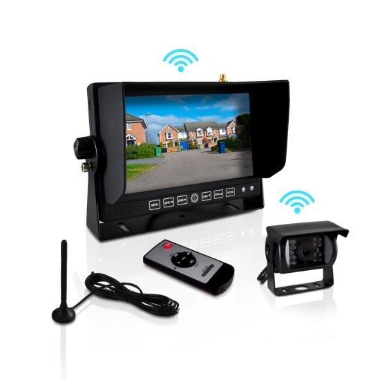 Pyle Plcmtr82wir On The Road Rearview Backup Cameras