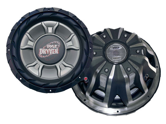 Pyle - PLD12WD , On the Road , Vehicle Subwoofers , 12'' 3200 Watt DVC Subwoofer