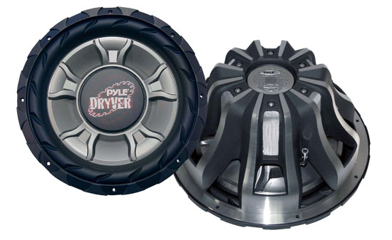 Pyle - PLD15WD , On the Road , Vehicle Subwoofers , 15'' 4000 Watt DVC Subwoofer
