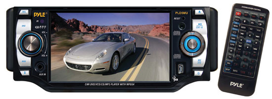 Pyle - PLD5MU , On the Road , Headunits - Stereo Receivers , 5'' TFT Multimedia Disc/ V MP3-R/ USB/ AM/FM/ RDS Receiver